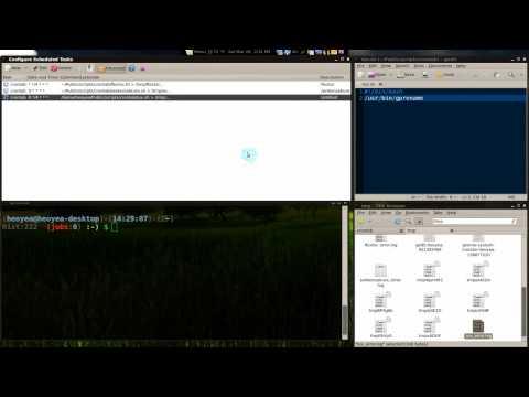 Magic Scripts 01 - Regular & Admin Crontab - Linux Mint 8