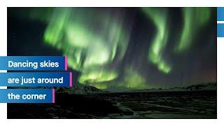 Iceland is just around the corner: Northern Lights   Icelandair