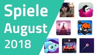 Top Spiele für Android & iOS - August 2018