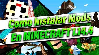 Como Instalar Y Descargar Mods En Minecraft *Facil* 1.14.4 /1.10/1.9/1.8 -  DeAleider