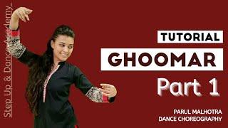 Ghoomar Dance Tutorial | Easy Step by Step @Parul Malhotra Choreography