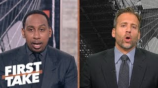 Stephen A. and Max debate who won the GGG vs. Canelo fight | First Take | ESPN