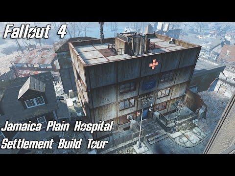 Fallout 4: Jamaica Plain Hospital, Settlement Build Tour