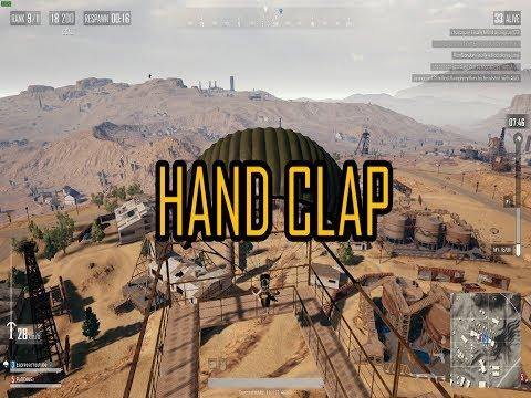 【PUBG】Hand Clap