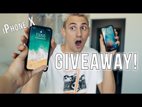 Saying Goodbye to my New iPhone X! (24-Hour Giveaway)