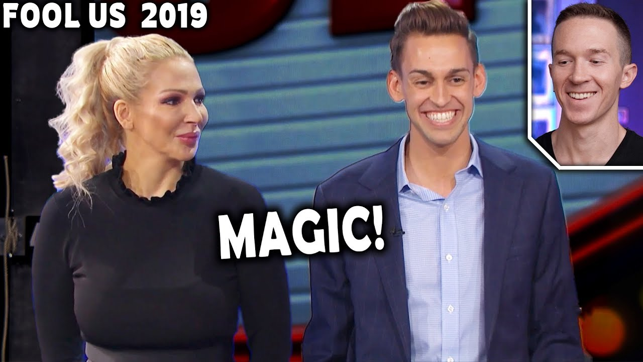 Magician REACTS to Blake Vogt & Jana on Penn and Teller FOOL US 2019