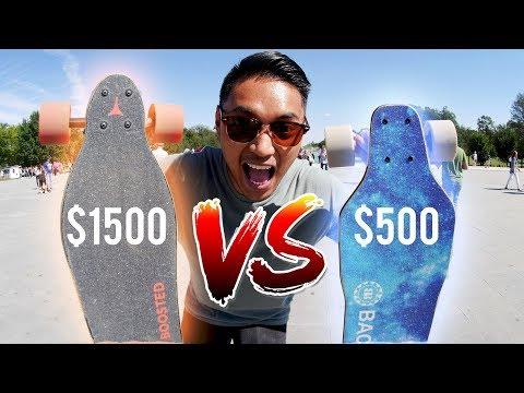 Boosted Board VS Backfire 2 | Electric Skateboard Race in D.C.