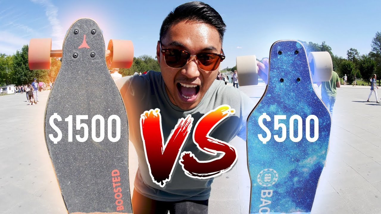 Boosted Board VS Backfire 2  Electric Skateboard Race   Doovi