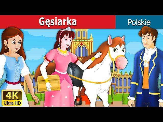 Gęsiarka | The Goose Girl Story in Polish | Polish Fairy Tales