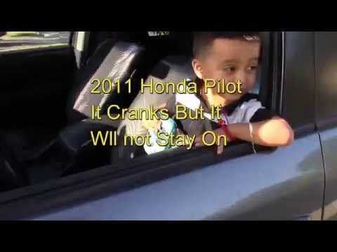 2017 Honda Pilot Wont Start It Cranks But Won T On
