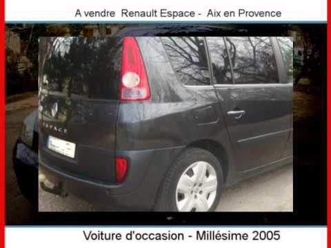 achat vente une renault espace aix en provence youtube. Black Bedroom Furniture Sets. Home Design Ideas
