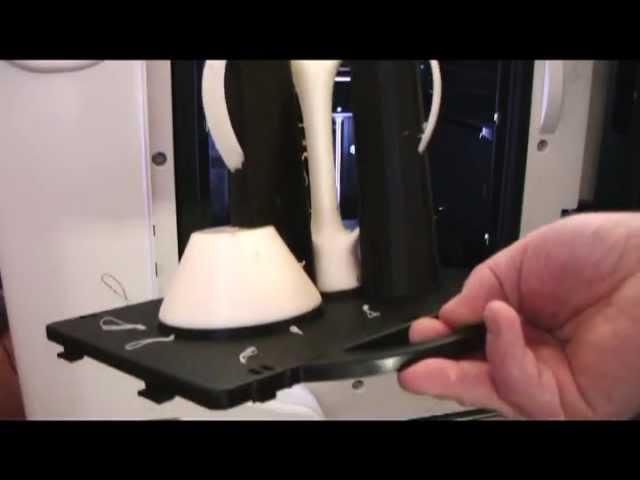 Printing a windmill on a uPrint 3D printer