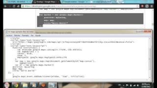 Tuto api maps (Insertar en html, marcadores, marcador personalizado, infoWindow) Free HD Video