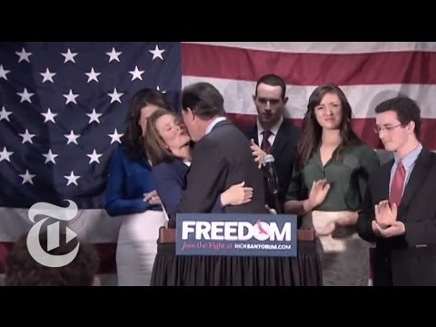 Election 2012 | The Caucus - The Rick Santorum Campaign Ends | The New York Times