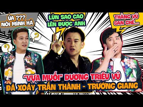 Dương Triệu Vũ đá xoáy chiều cao của Trấn Thành, Trường Giang tại Giọng Ải Giọng Ai 4