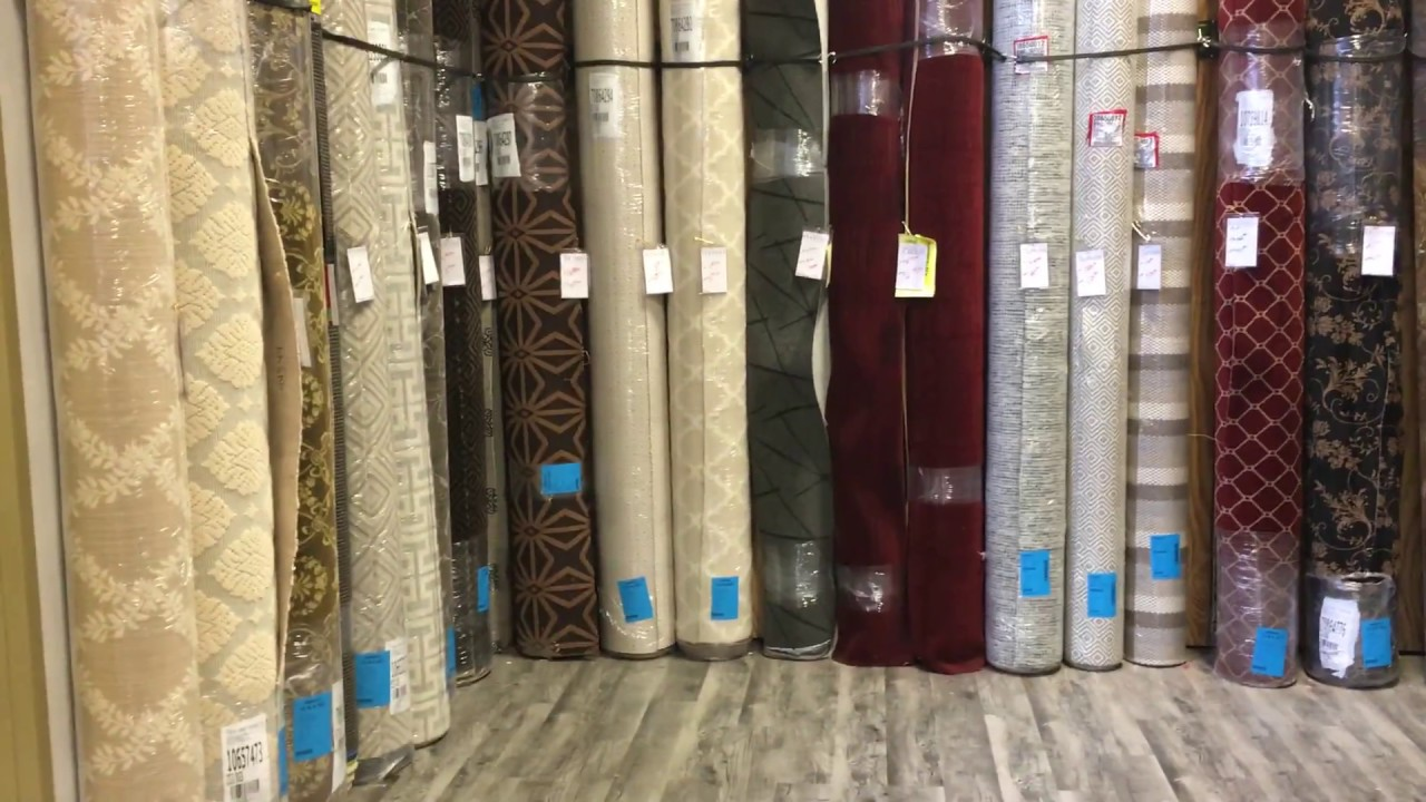 Tour Of Our Designer Wool Carpet Remnants In Our Maryland Showroom