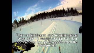 Løypebeskrivelse Holmenkollen skimaraton 2011