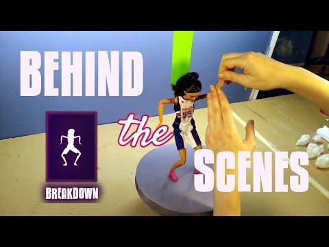 breakdown behind the scenes barbie fortnite dance challenge - barbie fortnite