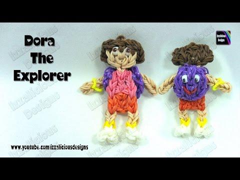 Rainbow Loom - Dora The Explorer Action Figure/Doll/Charm