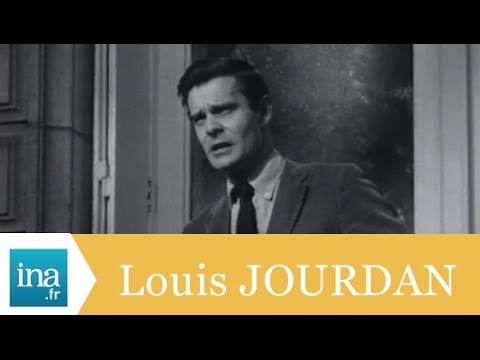 "Louis Jourdan ""Je n'ai pas accepté Hollywood"" - Archive INA"