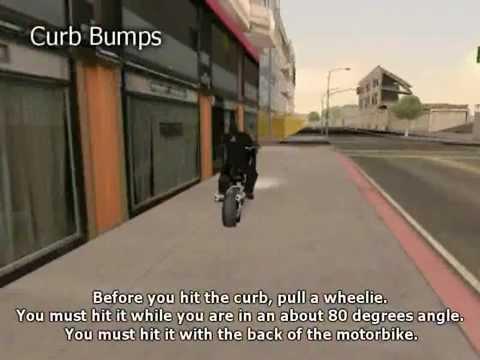 GTA San Andreas Stunting Tutorials - The Bumps
