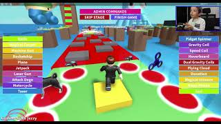 EXTREME HIDE-N-SEEK IN ROBLOX - CANDY OBBY! Jeu familial avec Jerry