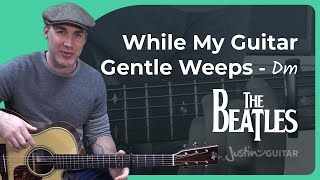 The Beatles - While My Guitar Gently Weeps [Love version] George Harrison