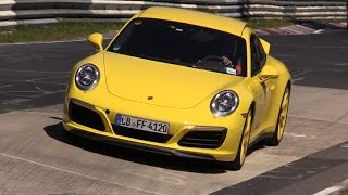 2016 Porsche 991 Carrera 4S MK2 - Exhaust Sounds on the Nurburgring! thumbnail