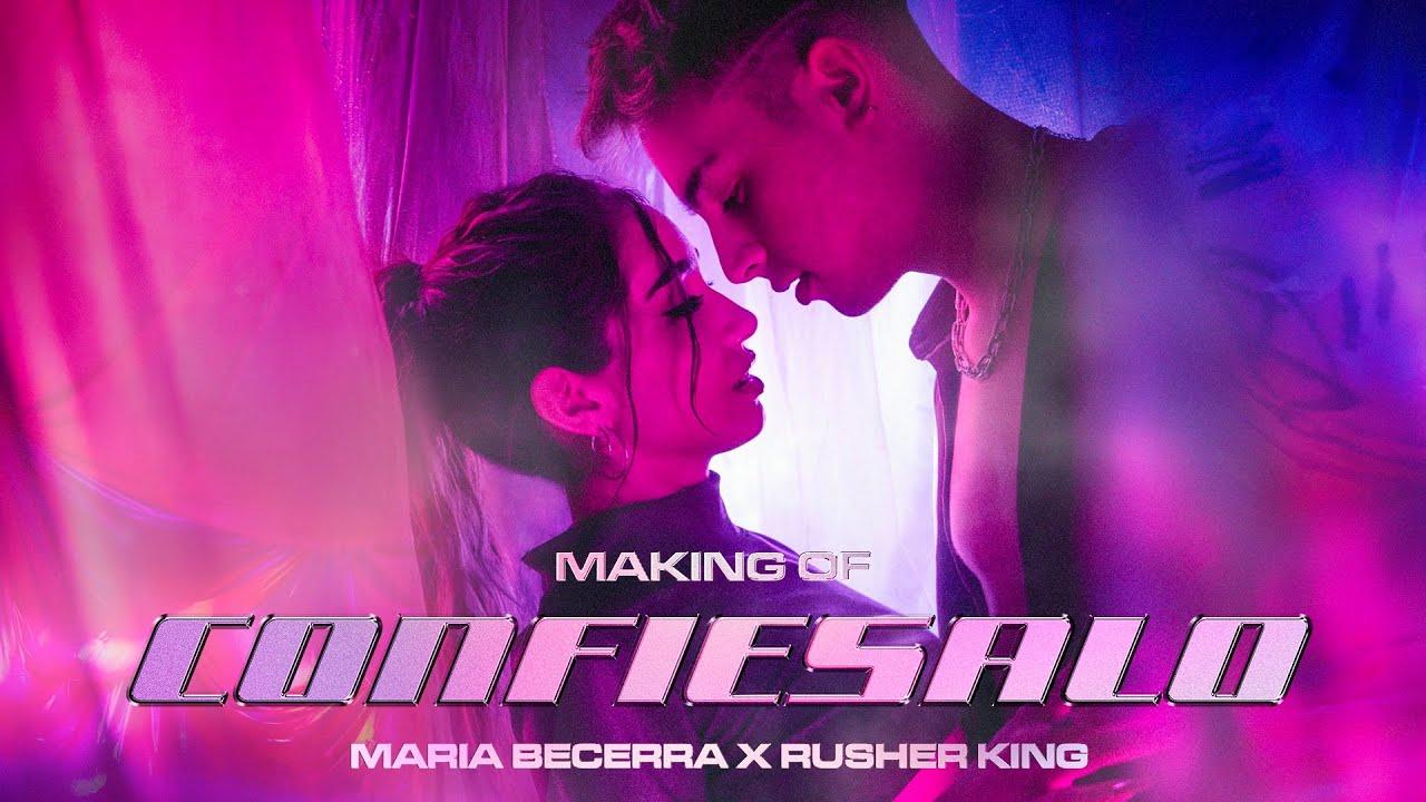 Maria Becerra | Confiésalo Dance Performance + Making Of ft. Rusherking