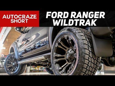 ONSLAUGHT SHORT // FORD RANGER  // Fuel Vapor Wheels, Tyres, Flares & More  | AutoCraze 2017