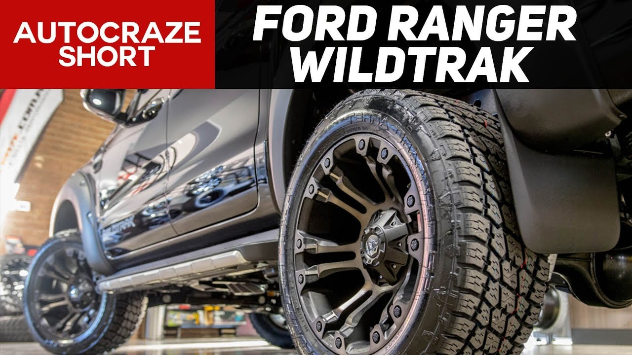 Onslaught Short Ford Ranger Fuel Vapor Wheels Tyres