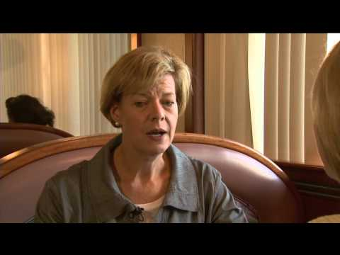 Susan Siman interviews Tammy Baldwin
