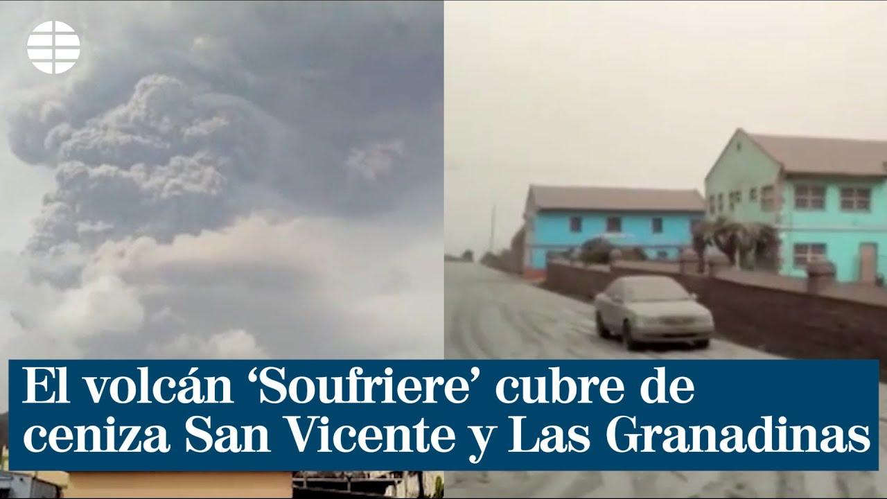 Erupción de volcán en el Caribe amenaza Venezuela, Colombia, Marruecos y Mauritania
