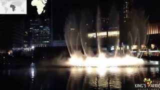 Dubai Burj Khalifa Lake Fountain Show -