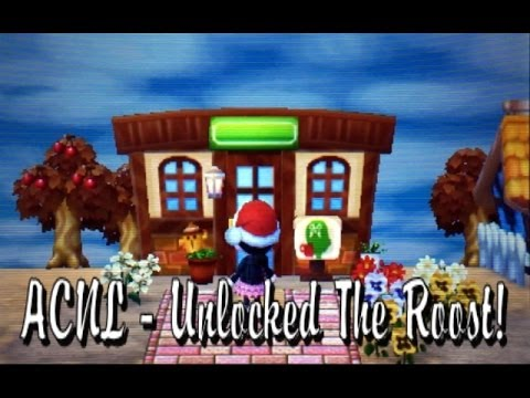 Animal Crossing Roost Cafe New Leaf