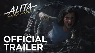 Alita: Battle Angel (2019) Official Trailer [HD] - Rosa Salazar, Christoph Waltz, Jennifer Connelly, Mahershala Ali