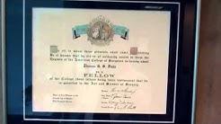 Dr. Fiala's Certificates | Medical Spa | Plastic Surgeon | Orlando, Florida