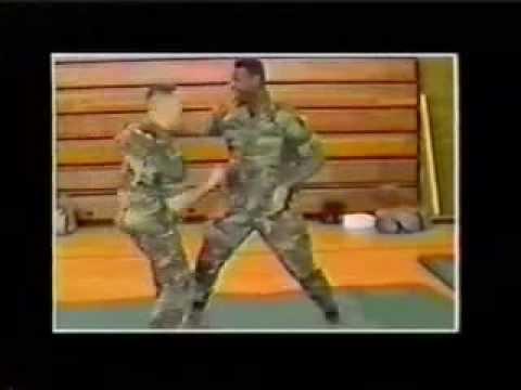 Master Leonard C. Holifield - ARMY Hand To Hand Demo