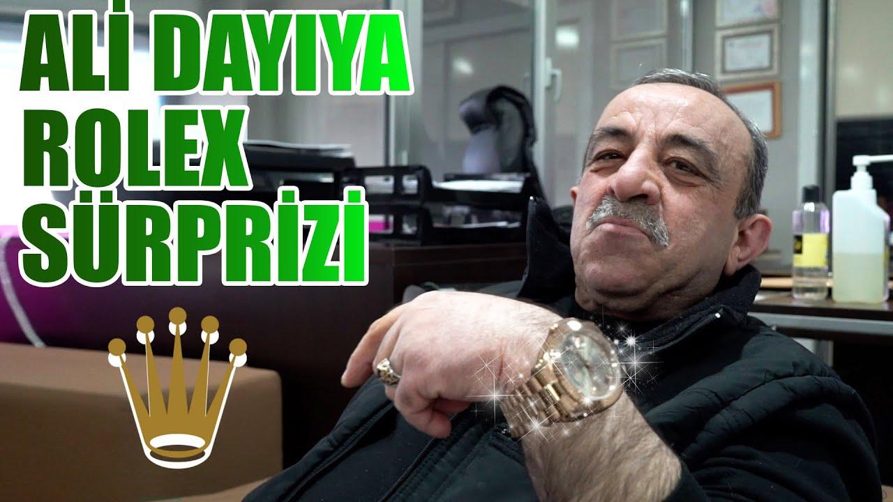 Download ALİ DAYI'YA ROLEX HEDİYE ETTİK
