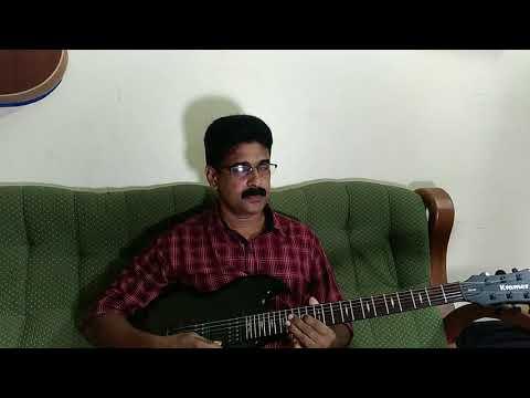 Japamala nenjodu cherthu    guitar cover