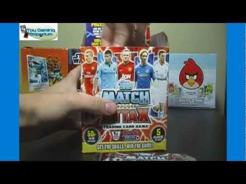 Opening a Box of Topps Match Attax 2012 / 2013 Trading Card Game Packs (Part 1)