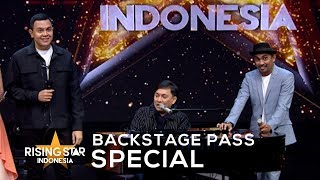 Download BACKSTAGE PASS SPECIAL : ADU RAYU YOVIE, TULUS, GLENN Mp3