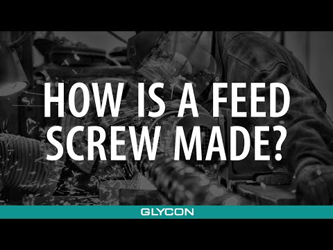 How Is a Feed Screw Made? Complete Process for Screw Manufacturing | Glycon Corp. Michigan USA
