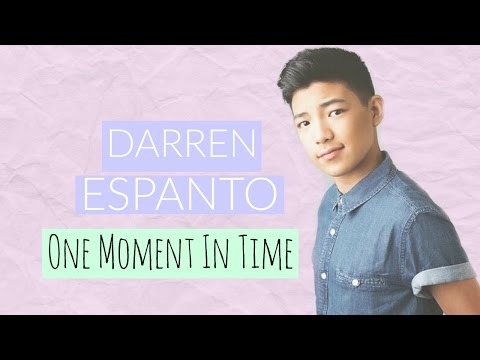 Darren Espanto - One Moment In Time - YouTube