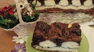 Пляцок сырно маковый «Лунная дорожка»  Украинская кухня