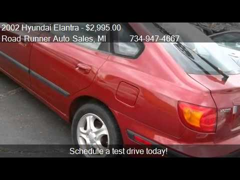 Road Runner Auto Sales Taylor >> 2002 Hyundai Elantra GT - for sale in Taylor, MI 48180 - YouTube
