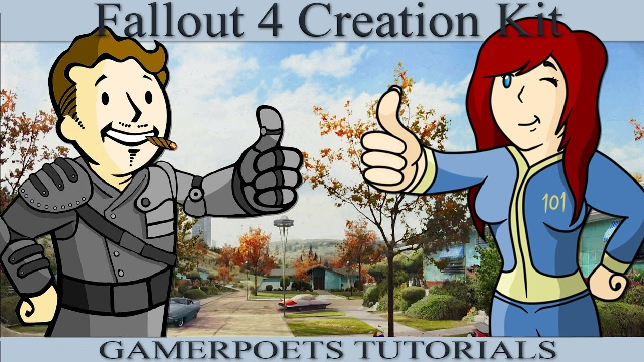 Archived Fallout 4 Creation Kit Installation Setup Youtube