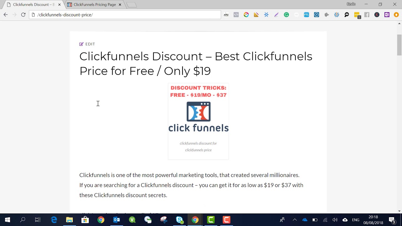 The Ultimate Guide To Clickfunnels Discount Code