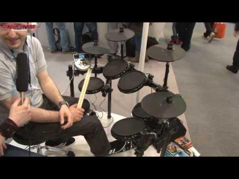 Musikmesse 2013 - ALESIS DM7X E-Drum Kit (deutsch)