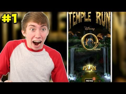 Temple Run: Oz - NEW TEMPLE RUN GAME - Part 1 (iPhone Gameplay Video)